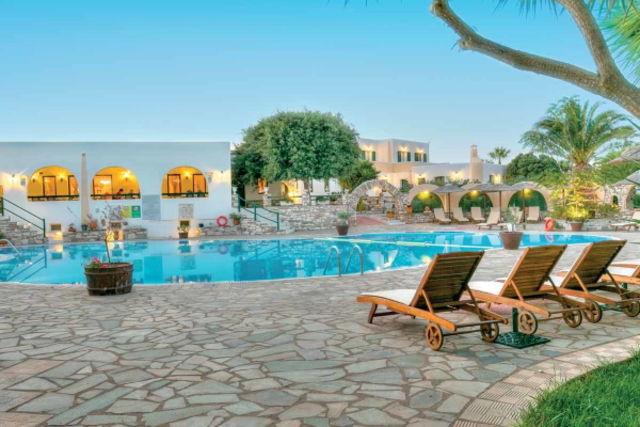Grece : Hôtel Asteras Paradise