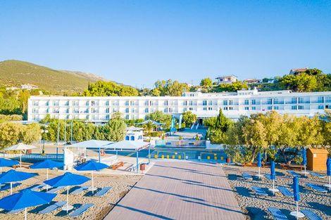 Grece-Athenes, Hôtel Delphi Beach 4*