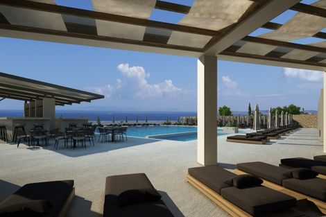 Grece-Athenes, Hôtel EverEden Beach Resort 4*