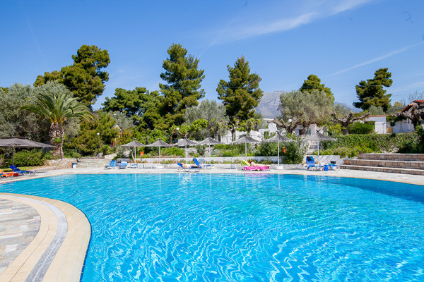 Piscine - Holidays In Evia Hotel Holidays In Evia3* Villes Inconnues Pays Inconnus