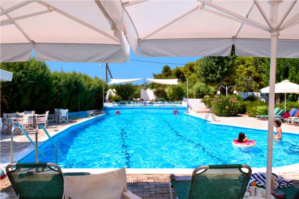Hotel Athenes Piscine