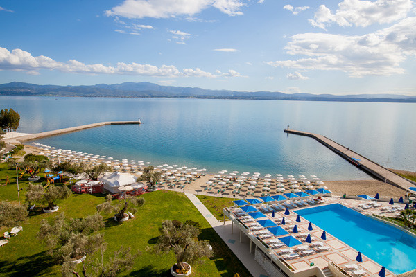 Plage - Palmariva Eretria Hotel Palmariva Eretria4* Athenes Grece