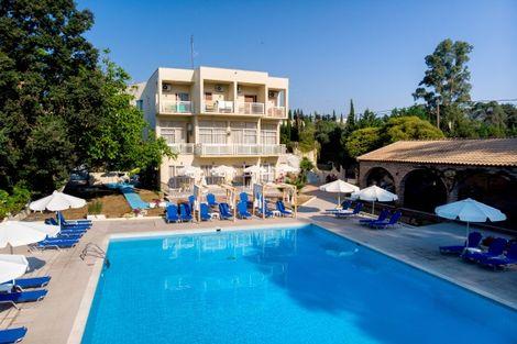Grece-Corfou, Hôtel Adult Only Amalia 3*
