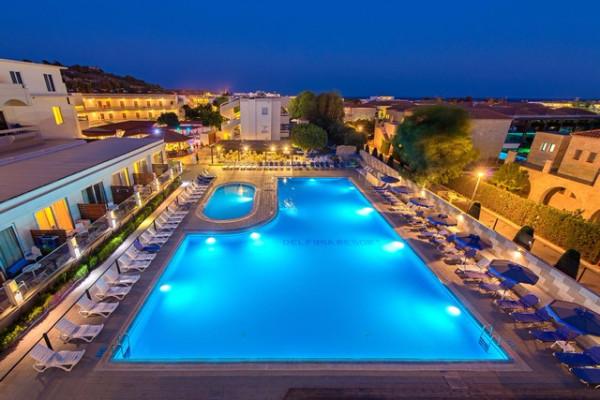 Hotel Delfinia Resort Rhodes Grece