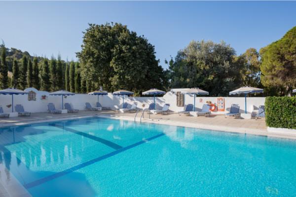 piscine - Nathalie Hôtel Nathalie2* Rhodes Grece
