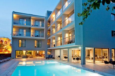 Grece-Rhodes, Hôtel Oktober Down Town Rooms 3*