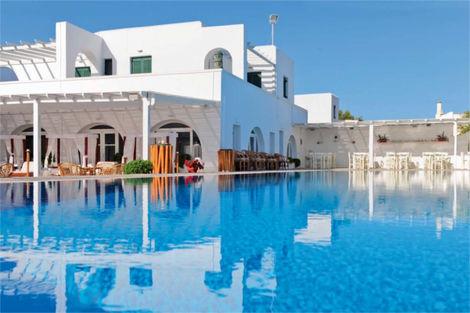 Grece-Santorin, Hôtel Holiday Sun 4*