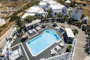 Grece-Santorin, Hôtel Milos Villas 4*