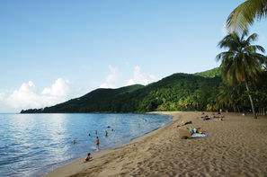 Guadeloupe-Pointe A Pitre, Hôtel Habitation Grande Anse 3*