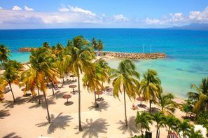 Guadeloupe-Pointe A Pitre, Hôtel Karibea Beach 3*