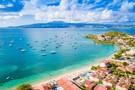 Iles Grenadines : Hôtel Bambou