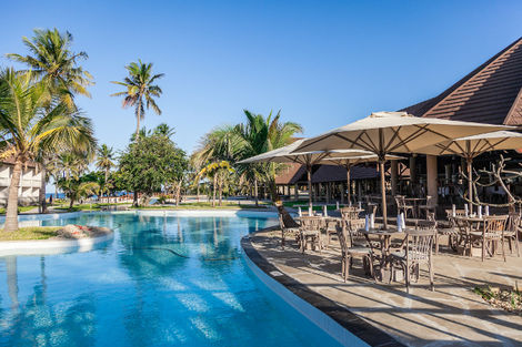 Kenya-Mombasa, Hôtel Amani Tiwi Beach Resort 5*