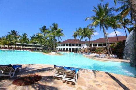 Kenya-Mombasa, Hôtel Flamingo Beach Resort & Spa 4*
