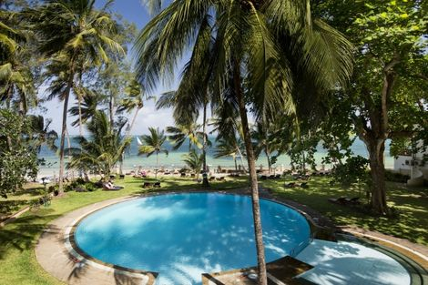 Kenya-Mombasa, Hôtel Neptune Beach Resort 4*