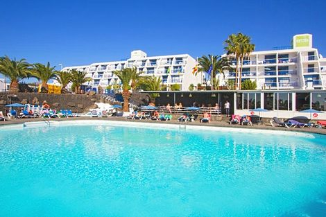 Lanzarote-Costa Teguise, Hôtel Ereza Apartamentos Los Hibiscos 2*
