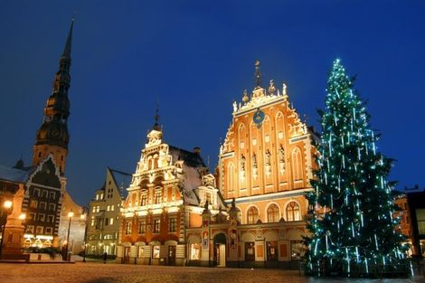 Lettonie-Riga, Hôtel Marché de Noël à Riga 4*