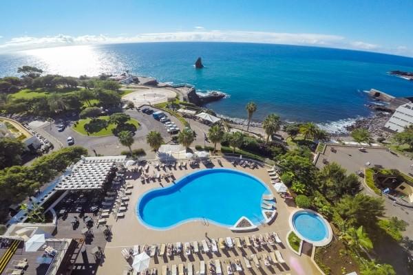 Vue de haut - Melia Madeira Mare Resort & Spa Hôtel Melia Madeira Mare Resort & Spa5* Funchal Madère