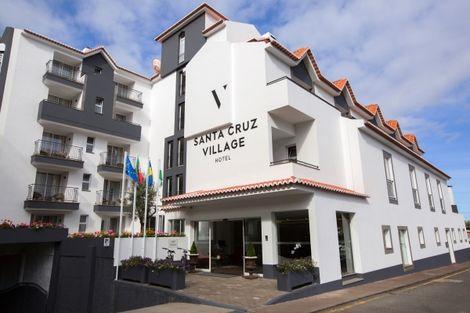 Madère-Funchal, Hôtel Santa Cruz Village Hotel 4*