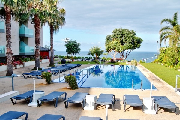 Piscine - Golden Résidence Hôtel Golden Résidence4* Funchal Madère