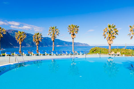 Madère-Funchal, Hôtel Monte Mar Palace 4*