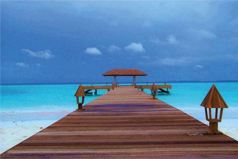 Maldives-Male, Hôtel The Barefoot Eco Hotel 3*