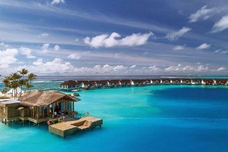 Maldives-Male, Hôtel Oblu Select at Sangeli 4*