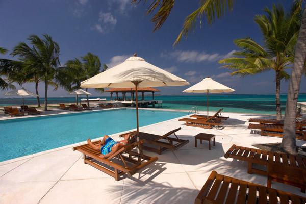 Piscine - Club Faru Hôtel Club Faru3* sup Male Maldives