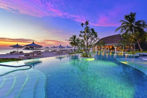 Maldives-Male, Hôtel Kanuhura 5*