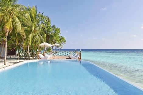 Maldives-Male, Hôtel Thulhagiri Island Resort & Spa 4*