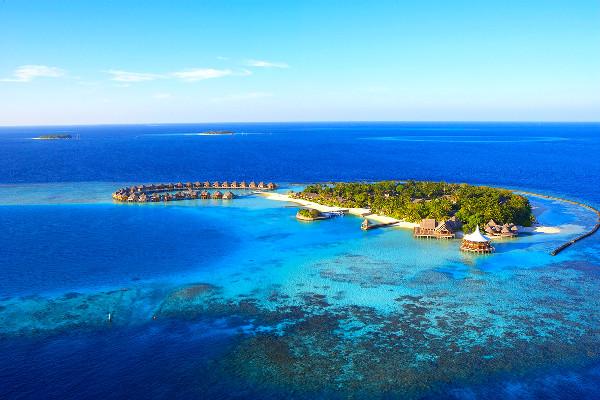 Vue aérienne - Baros Maldives Hôtel Baros Maldives5* Male Maldives