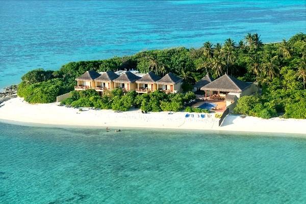 Vue aérienne - Casa Mia@Mathiveri avec bateau rapide ou hydravion Hotel Casa Mia@mathiveri3* Male Maldives