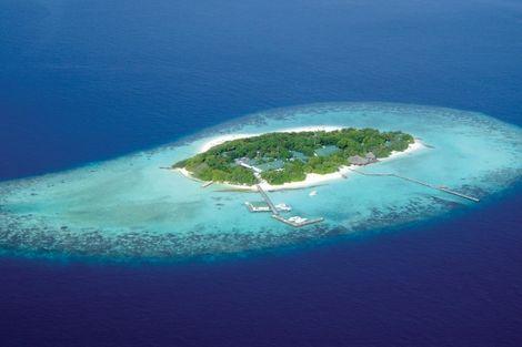 Maldives-Male, Hôtel Eriyadu Island Resort 4*