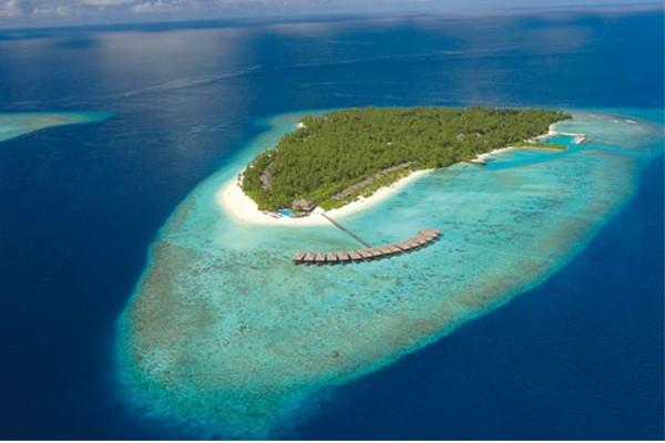 Vue aérienne - Filitheyo Island Resort Hôtel Filitheyo Island Resort4* Male Maldives