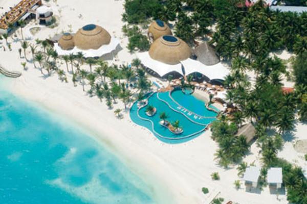 vue panoramique - Holiday Inn Kandooma Resort Hôtel Holiday Inn Kandooma Resort4* Male Maldives