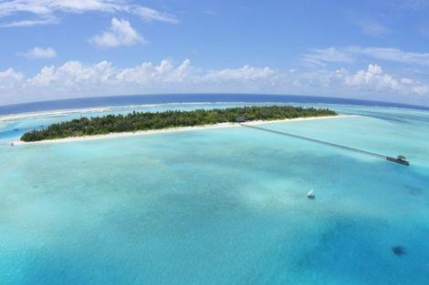 Maldives-Male, Hôtel Holiday Island 3*