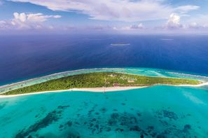 Maldives-Male, Hôtel Hondaafushi Island Resort 4*