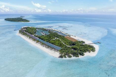 Maldives-Male, Hôtel Innahura Maldives Resort 3*