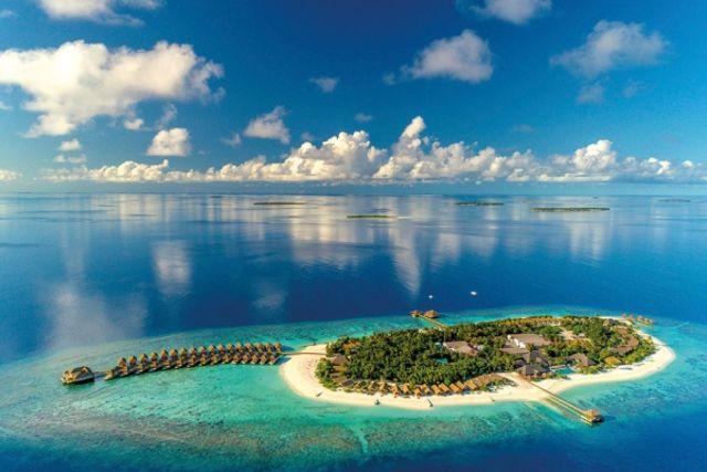 Maldives : Hôtel Kudafushi Resort & Spa