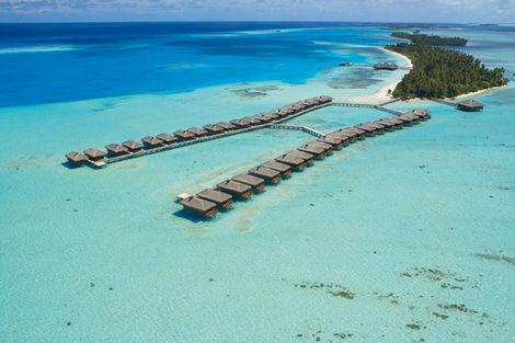 Maldives-Male, Hôtel Medhufushi Island Resort 4*