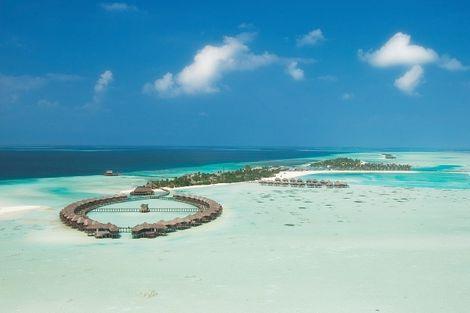 Maldives-Male, Hôtel Olhuveli Beach & Spa 4*