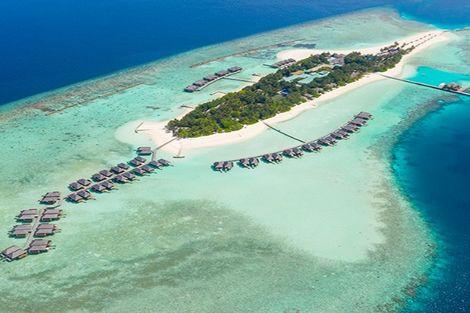 Maldives-Male, Hôtel Veligandu Island Resort & Spa 4*