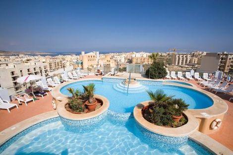 Malte-La Valette, Hôtel Sunflower 3*