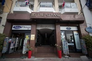 Malte-La Valette, Hôtel 115 The Strand Hotel and Appartement 3*