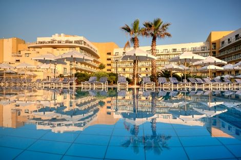 Malte-La Valette, Hôtel Intercontinental Malta 5*