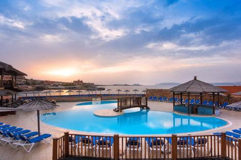 Malte-La Valette, Hôtel Ramla Bay 4*