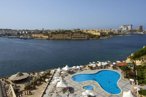 Malte-La Valette, Hôtel Grand Hotel Excelsior 5*