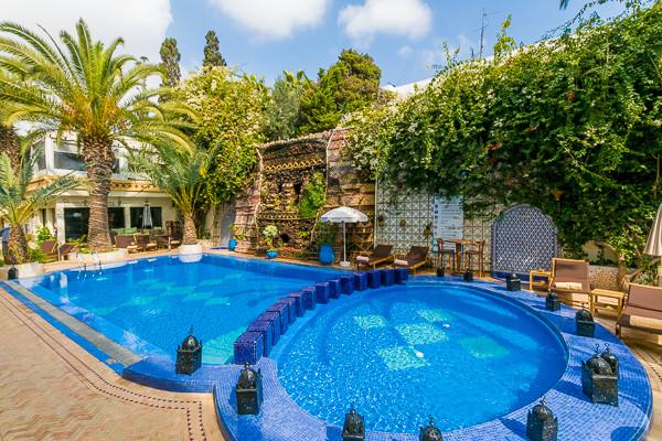 piscine - Atlantic Hôtel Atlantic3* Agadir Maroc