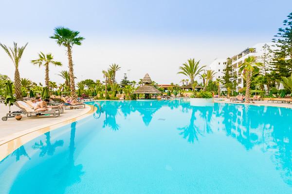 Piscine - Riu Tikida Beach Golf et Thalasso Hôtel Riu Tikida Beach Golf et Thalasso4* Agadir Maroc