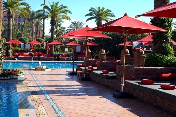 Piscine - Sofitel Marrakech Lounge And Spa Hotel Sofitel Rak Lounge And Spa		5* Marrakech Maroc