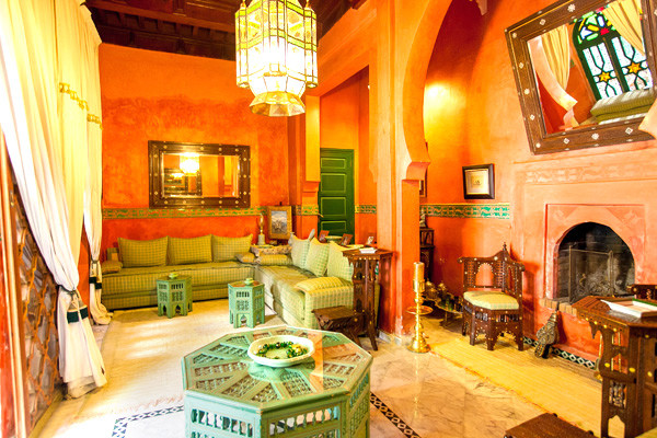 salon - Ravel Hotel Ravel Marrakech Maroc